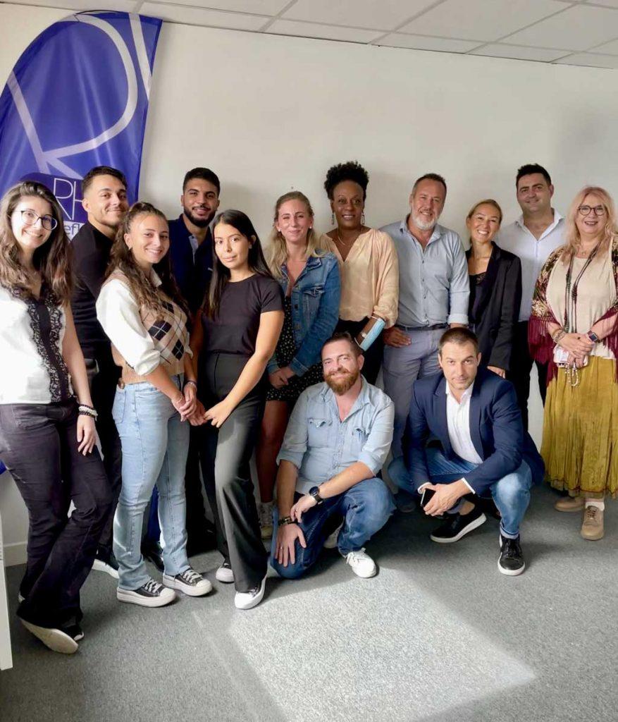 Equipe du centre de formation professionnelle RH REFLEX à Nice 06